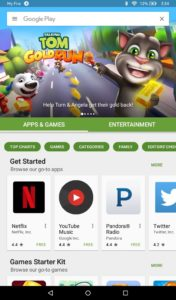 Google Play Store for Amazon Fire